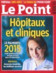 Palmarès Le Point 2015 des meilleures cliniques de France pour la chirurgie de la myopie