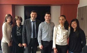 Dr marc Chemla et son équipe au Centre Vision Laser Paris Ouest